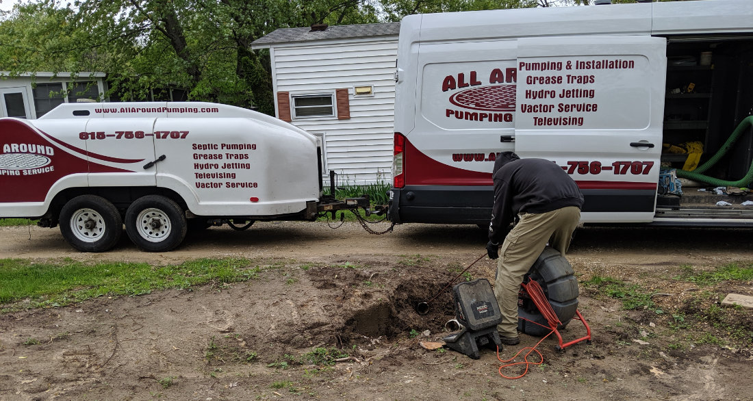 Sewer Cleaning in Naperville, IL